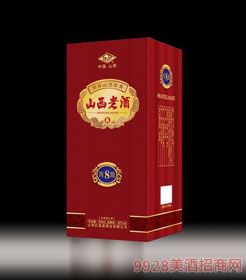 山西老酒�8�42度500ml