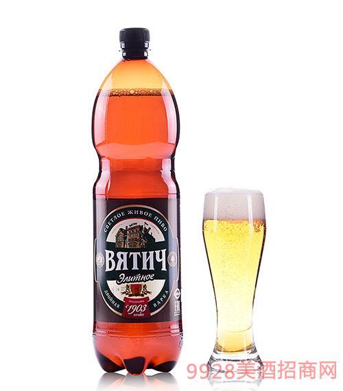 维吉尊享啤酒5.4度1.5L
