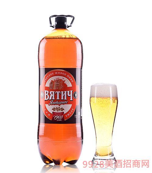 维吉琥珀啤酒4.7度1.5L