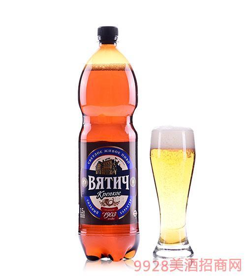 维吉浓烈啤酒6度1.5L