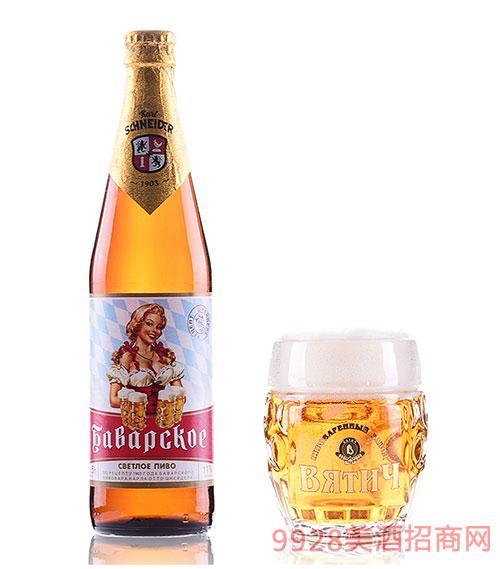 维吉啤酒巴伐利亚4.7度500ml