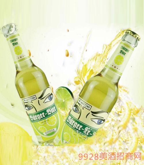 别格啤酒·柠檬果味啤