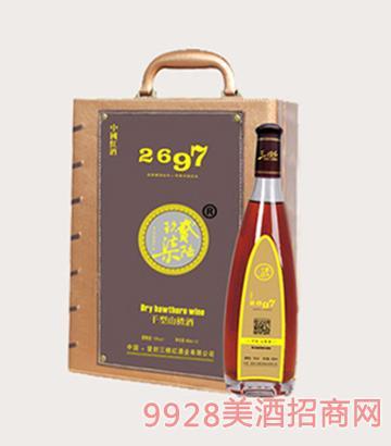 2697干型山楂酒单瓶