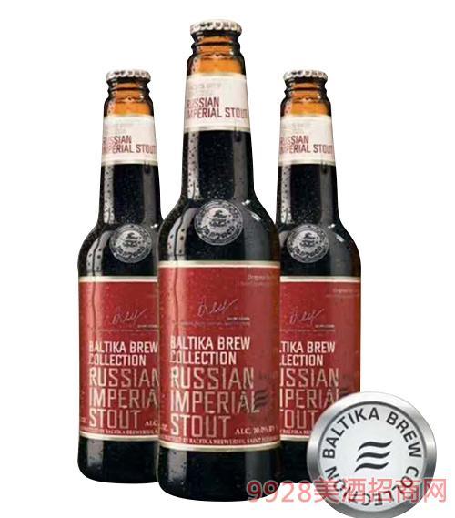 波罗的海啤酒烈性黑啤酒10度440mlx20