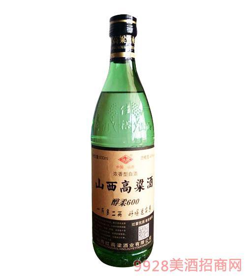 西高粱酒醇柔600ml