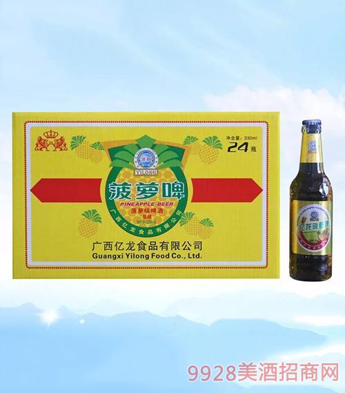 亿龙啤酒菠萝啤330ml