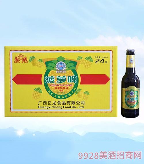 亿龙啤酒菠萝啤低醇330ml