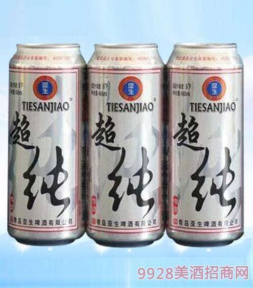 亚生啤酒超纯啤酒488ml