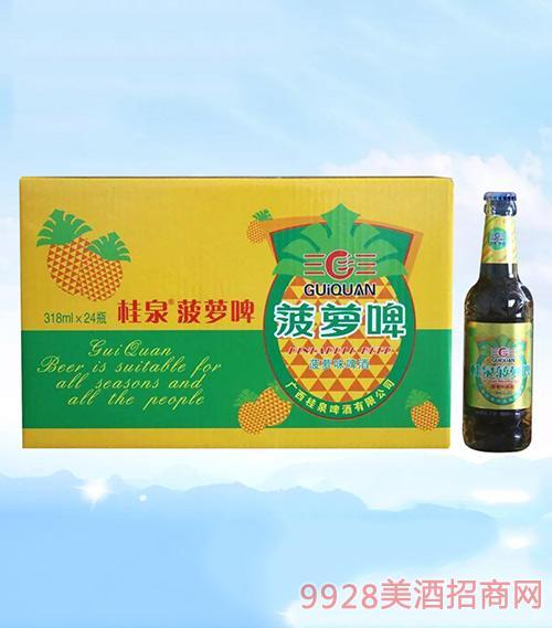 桂泉菠萝啤318mlX24