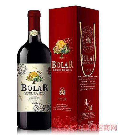 西班牙宝拉5L干红葡萄酒