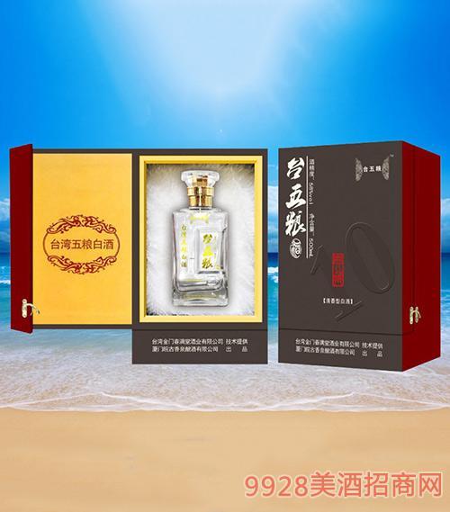 台五粮酒58度500毫升清香型1×6