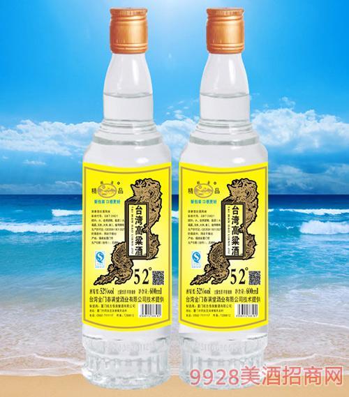 闽圣台湾高粱酒600毫升52度简装