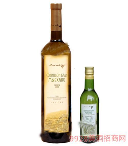 密斯哈克长相思优品干白葡萄酒187ml 750ml