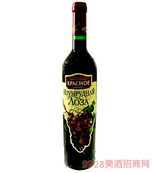 绿藤红葡萄酒750ml