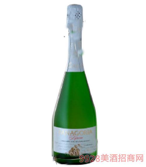 法纳香槟级干起泡酒750ml