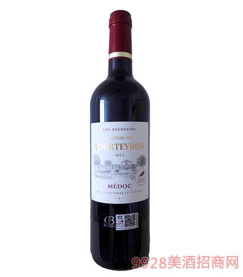 法国图龙城堡红葡萄酒13度750ml