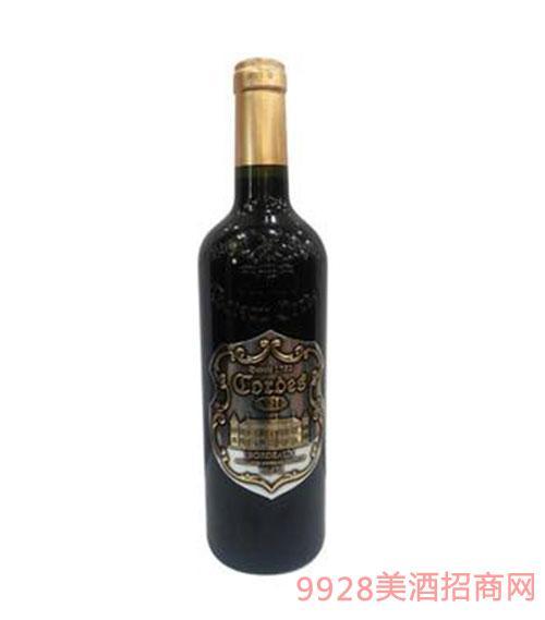 卡图磨坊波尔多老风车干红葡萄酒V10