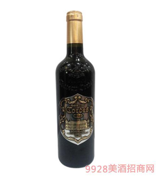 卡图磨坊波尔多老风车干红葡萄酒V11