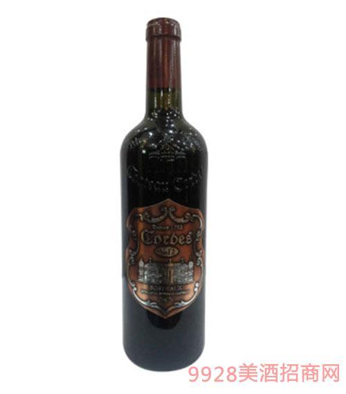 卡图磨坊波尔多老风车干红葡萄酒V12