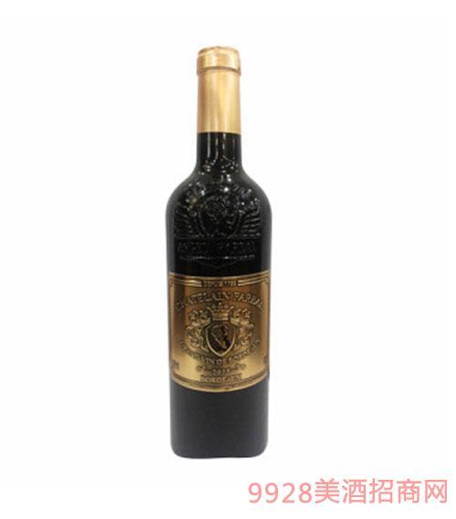 法莱雅城堡波尔多干红葡萄酒13度