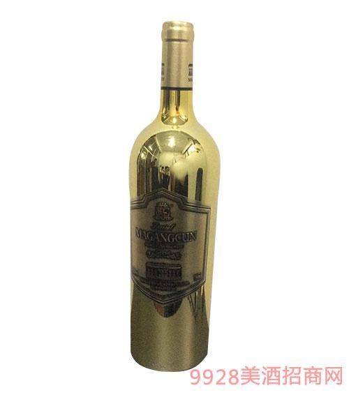 马岗村家族美乐干红葡萄酒