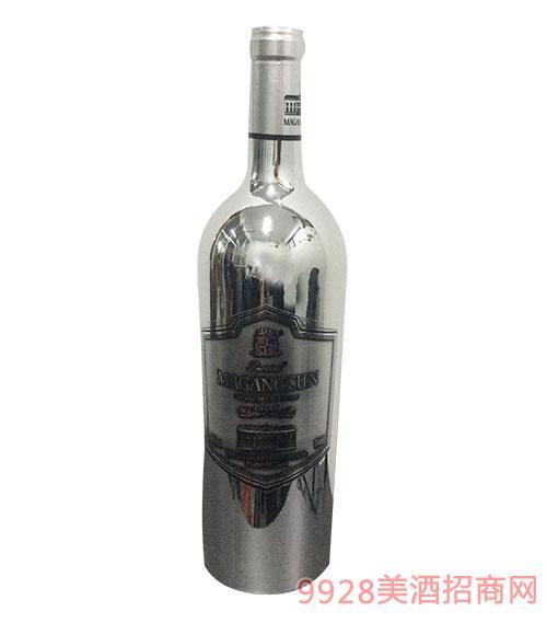 马岗村家族银牌西拉干红葡萄酒12度
