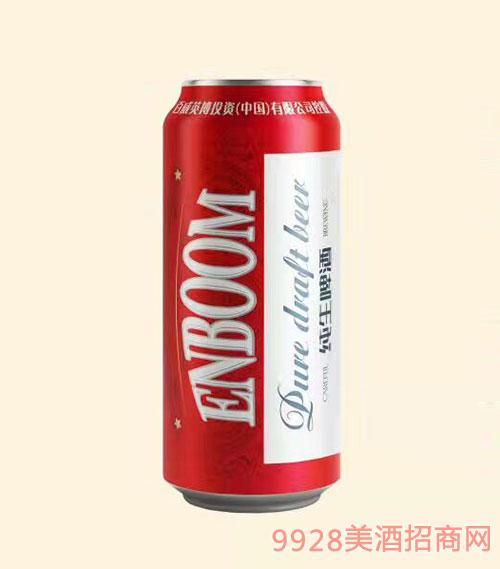 英宝纯生啤酒3.3度500ml