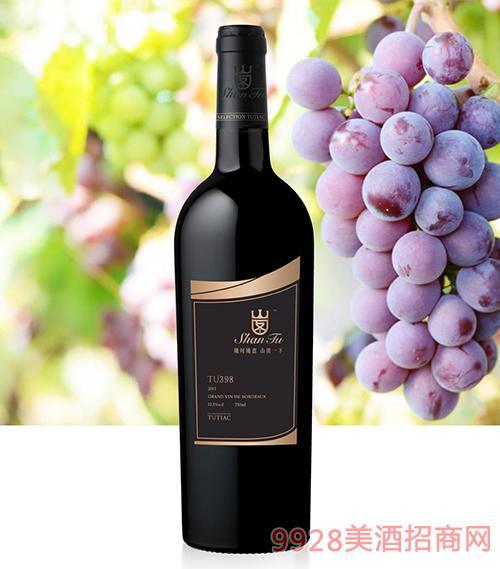 山图干红葡萄酒TU398 12.5度750ml
