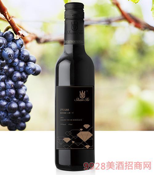 山图干红葡萄酒PV688 13度750ml