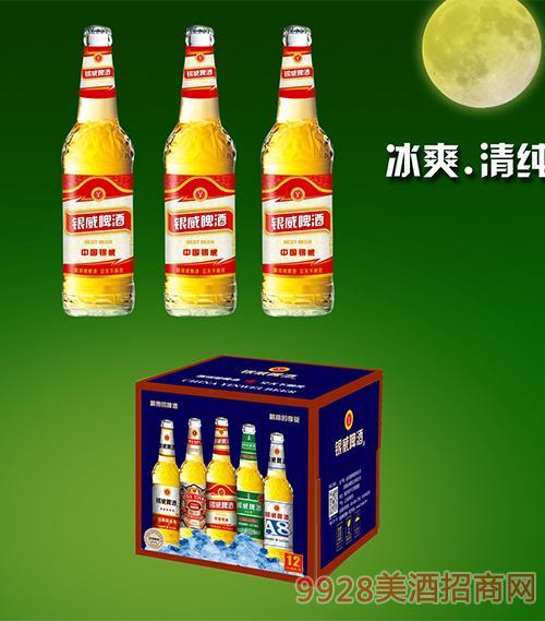 500ml中国银威白瓶2