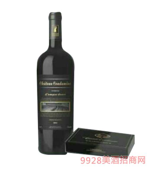 法国德曼庄园葡萄酒14度750ml