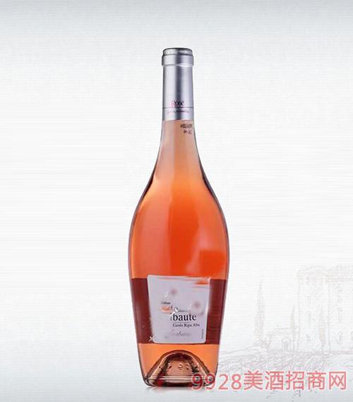 法国里博特粉红葡萄酒12.5度