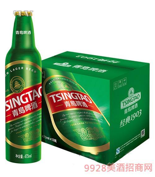 青岛啤酒1903精酿473ml