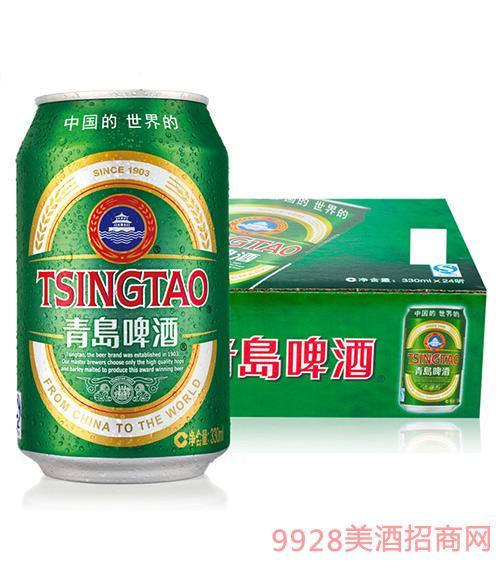 青岛啤酒经典款330ml