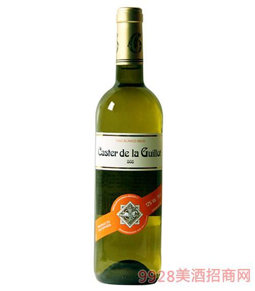 西班牙吉洛卡思特白葡萄酒11度750ml