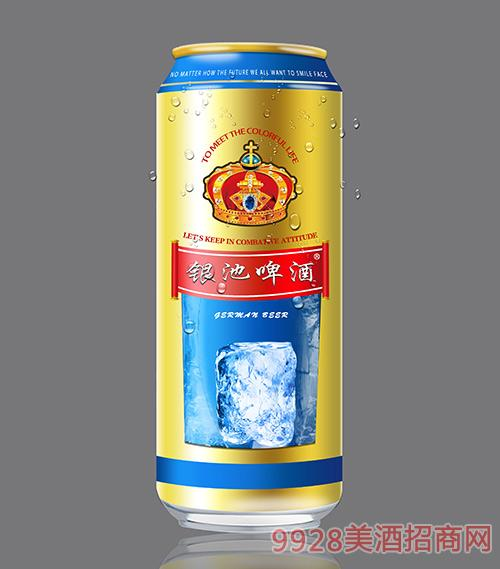 银池啤酒500ml