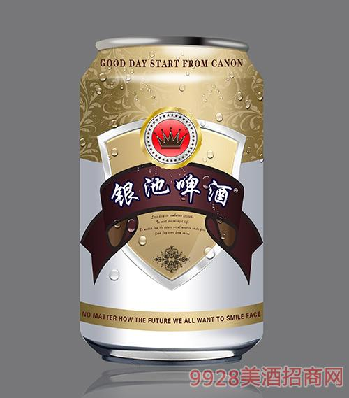 银池啤酒330ml