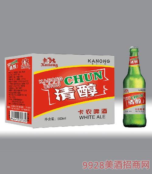 卡农啤酒清醇500ml