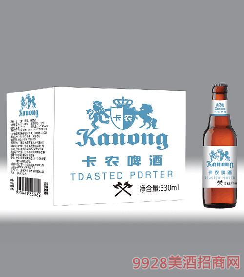 卡农啤酒330ml