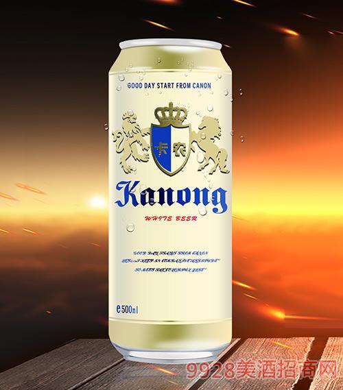卡农白啤酒11.2°P500ml