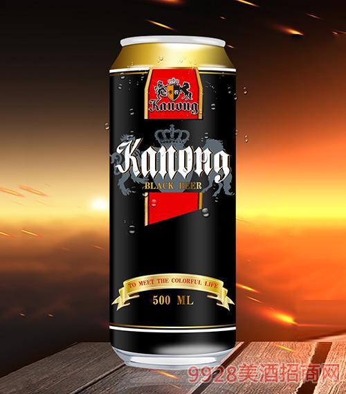 卡农黑啤11°P500ml