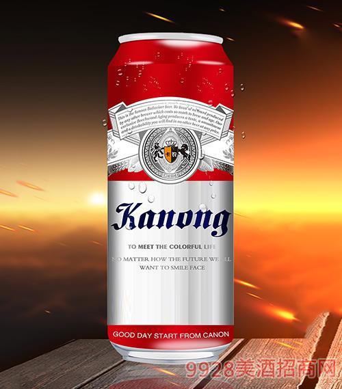 卡农啤酒10°P500ml