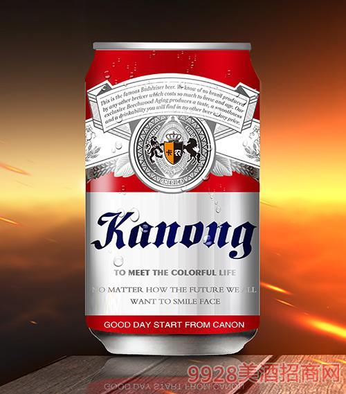 卡农啤酒10°P330ml