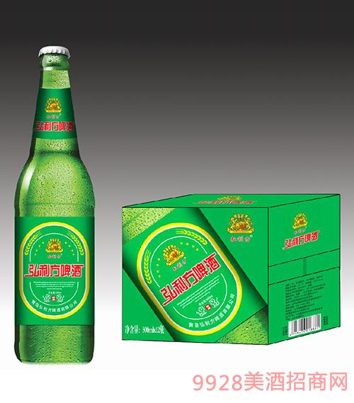 弘利方啤酒500mlx12