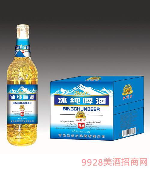 弘利方啤酒冰纯啤酒500mlx12