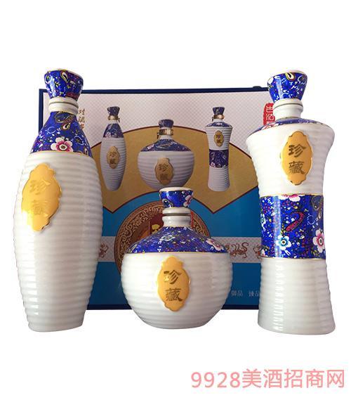 洋河镇生态原浆酒珍藏酒(蓝色)