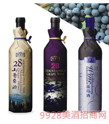 澳迪尼28山葡萄酒12度750mlx6