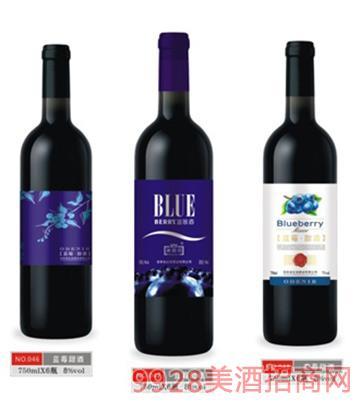 澳迪尼蓝莓甜酒750mlx6