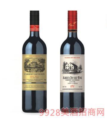 贝拉赤霞珠干红葡萄酒12度750ml