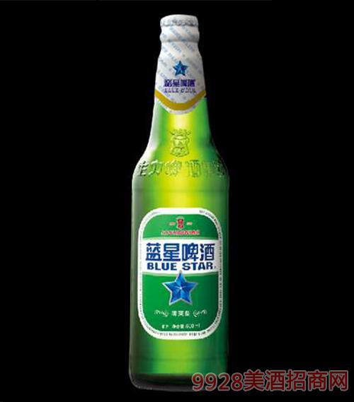 蓝星啤酒瓶装330ml